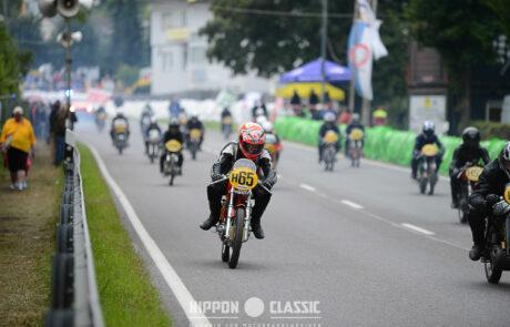 Start der Klasse bis 250 ccm beim 28. Schottenring Classic GP