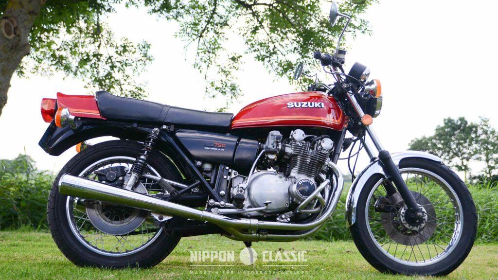 Die Suzuki GS 750 war dafür die Schnellste im Bunde