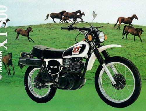 Yamaha XT 500 Prospekt 1979 – Das Original