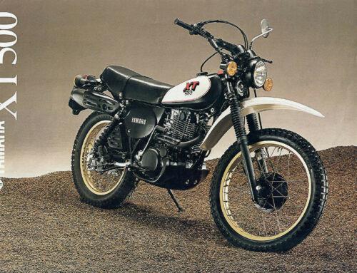 Yamaha XT 500 Prospekt 1980 – Erfolgreichste Viertakt-Enduro