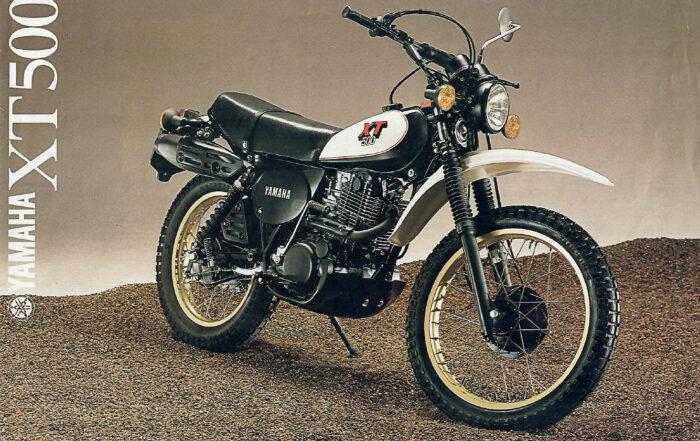 Yamaha XT500 Prospekt 1980