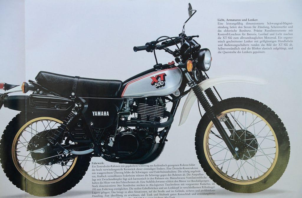 Yamaha XT 500 und HL 500   MOTORRADonline.de