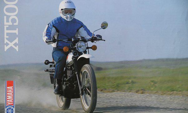 Yamaha XT 500 Prospekt 1986
