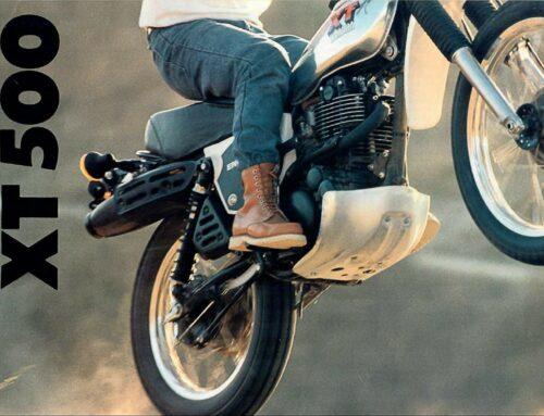 Yamaha XT 500 USA-Prospekt von 1979 – The Place You Go.