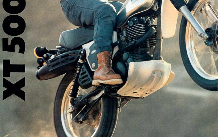 Yamaha XT 500 Prospekt USA 1979