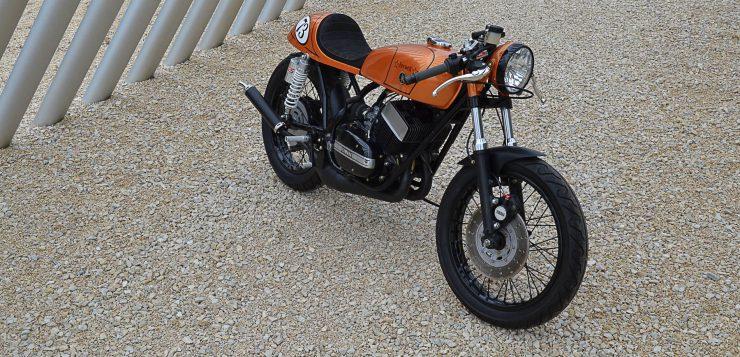 1973 Yamaha RD 250 Cafe Racer