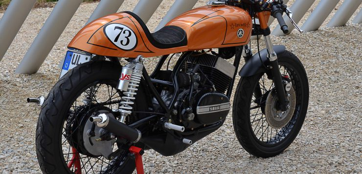 Yamaha RD 250 Cafe Racer