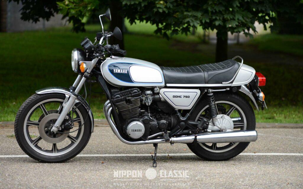 In den USA war die Yamaha XS 750 bereits ab 1976 zum Bestseller avanciert