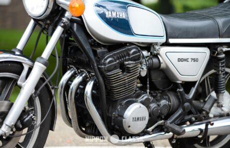 Yamaha Dreizylinder-Motor