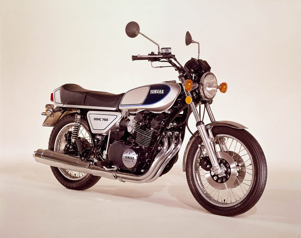 Yamaha xs 750 1977 1980 kraftvoll mit solider technik for Yamaha suzuki of texas
