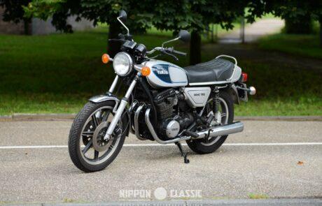 Mit 257 Kilogramm war die Yamaha XS 750 im Vergleich recht schwer
