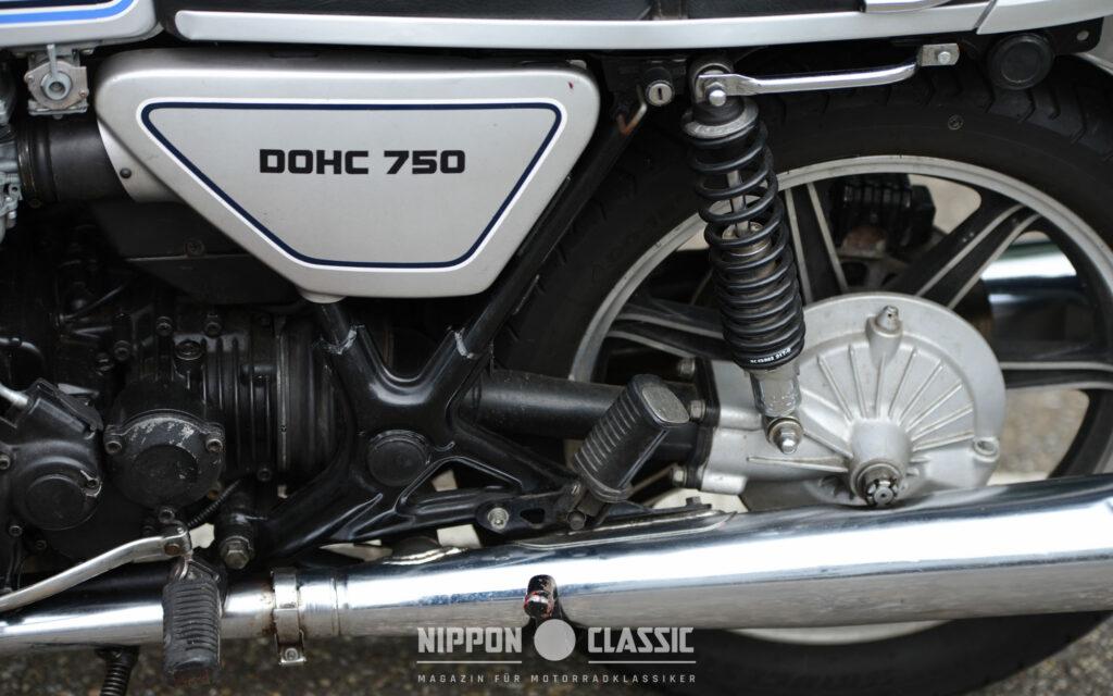Die XS 750 besaß einen soliden Kardan-Antrieb 'Made in Germany'