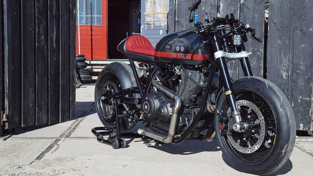 """Die Yamaha XV 950 """"Son of Time"""" ist das jüngste Mitglied der Yard Built Familie"""