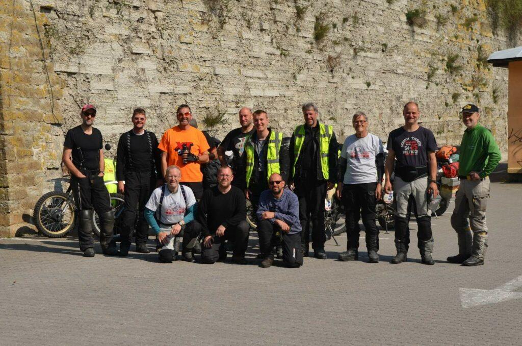 Das XT-Team am Slettnes Fyr - dem nördlichste Leuchtturm der Welt