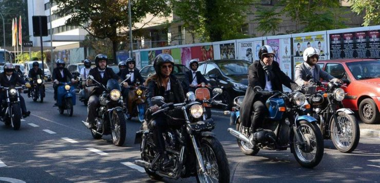 Distinguished Gentleman's Ride 2016 Frankfurt