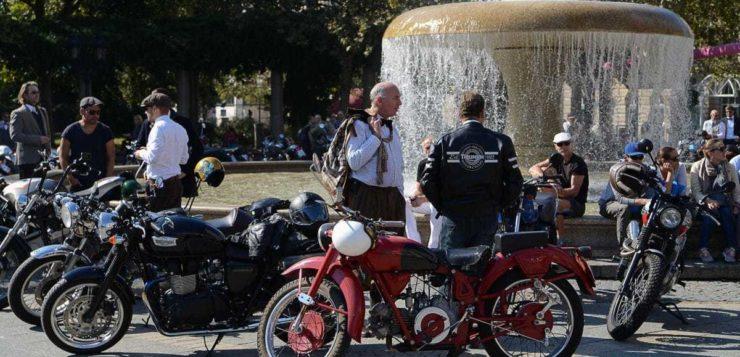 Distinguished Gentleman's Ride 2016 Frankfurt