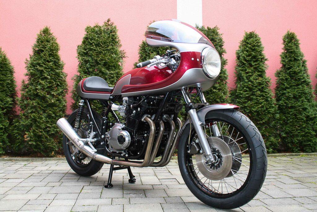 Im Look der 70er Jahre: Ducati-Kanzel