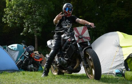 Jeder hat seine ganz eigene Interpretation von Motorrad