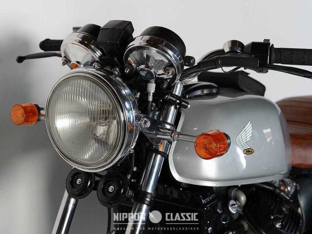 Die Schnapsglasblinker sollten an dem CX500 Caferacer unbedingt bleiben