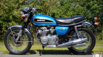 Honda CB 500 Four – der Topseller in der 500er Klasse