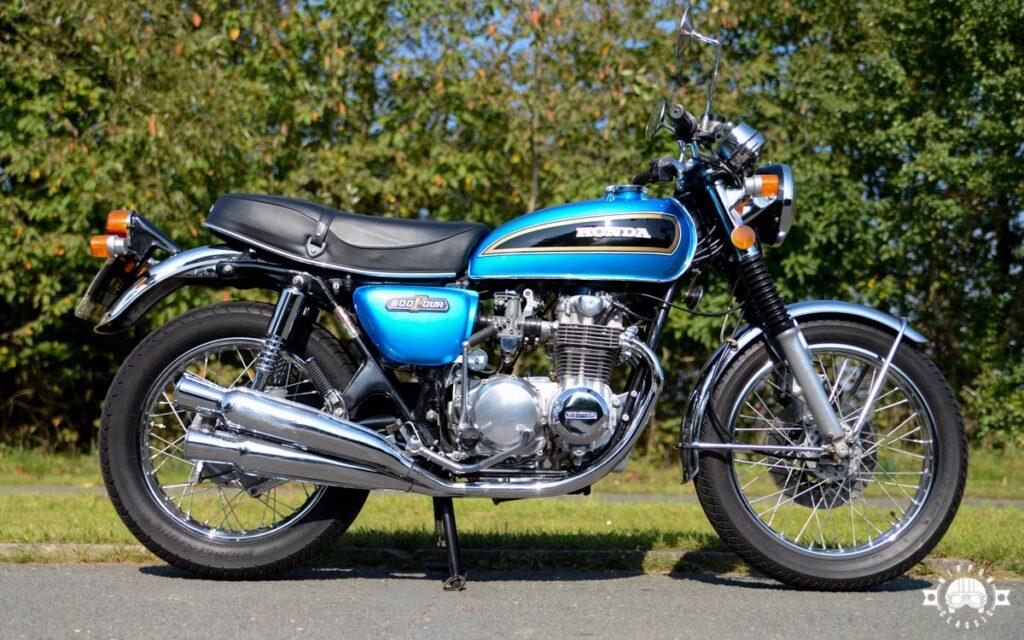 Man sieht sie noch öfters - Honda CB 500 Four