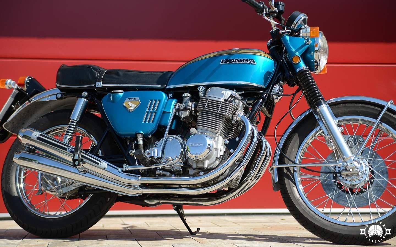 Honda Cb 750 Four K0 Eine Besondere Schönheit Von 1969