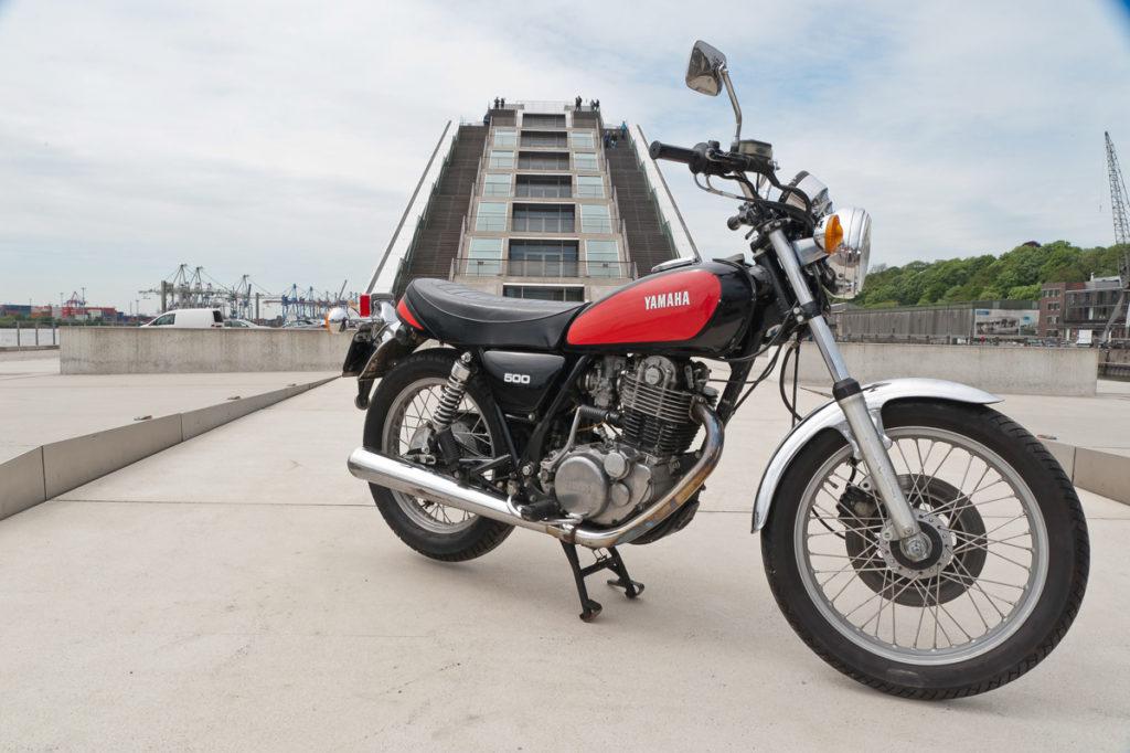 Die Yamaha SR 500 schlug 1978 ein wie eine Bombe