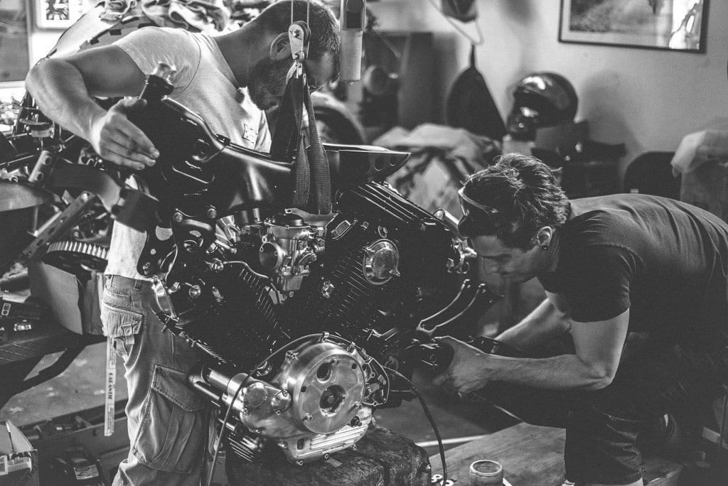 Yamaha TR1 Motor