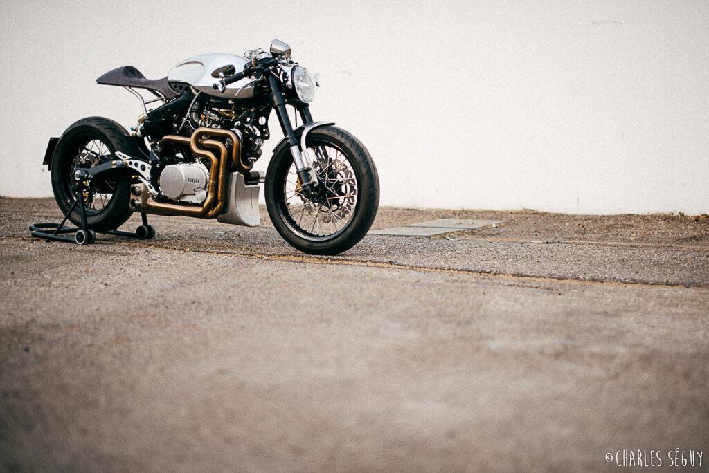 Custom Yamaha TR1 'Fireball' von Plan B Motorcycles