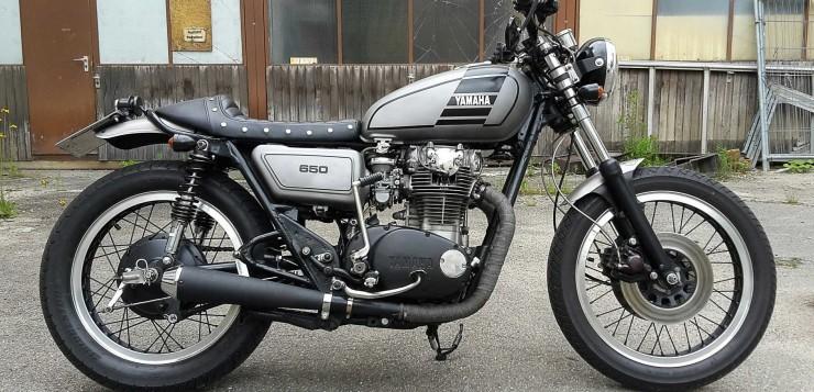 Yamaha XS650 Café Racer