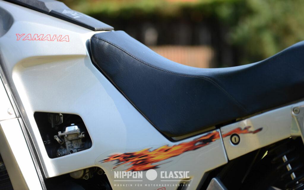 Trotzdem ist die Linienführung der Yamaha XJ 650 Turbo gelungen