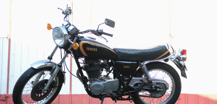 Die Yamaha SR 500 48T wie sie von 1987 bis 1990 angeboten wurde