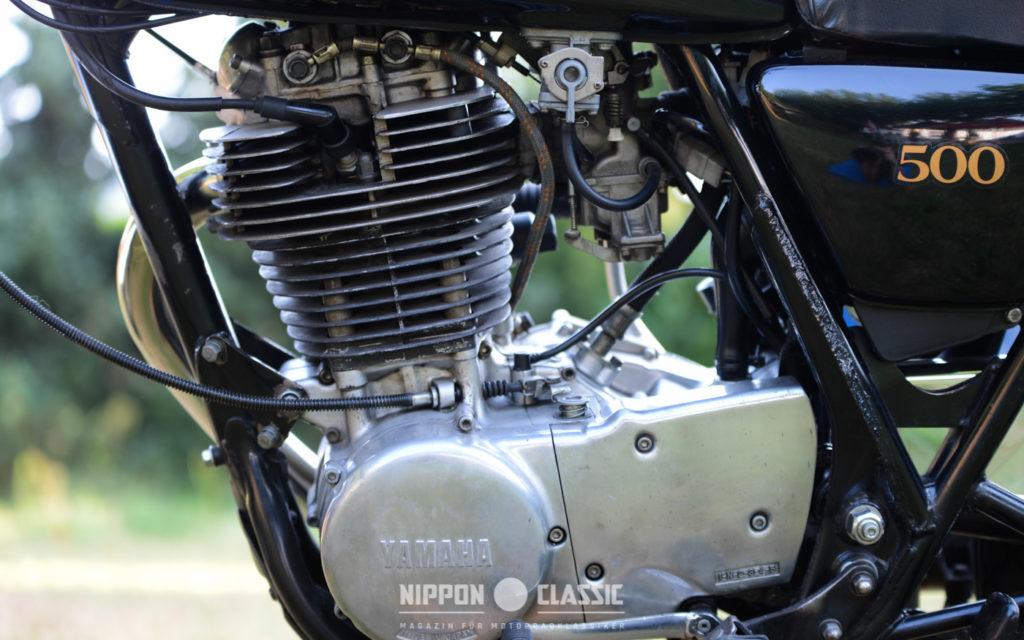 Der SR 500 Motor war grundsolide, versprühte aber keinerlei Aufregung