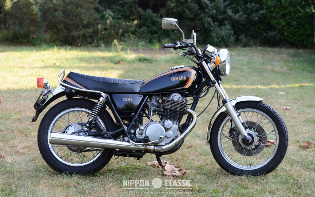 Die Yamaha SR 500 gab es mit 23 bis 34 PS Leistung