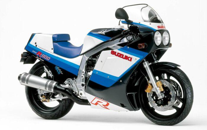Die Suzuki GSX-R750 gilt als erster Supersportler