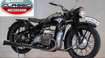 100 Jahre Zündapp bei der Bremen Classic Motorshow 2017