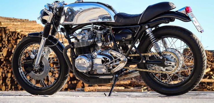 CB 550 Four Café Racer