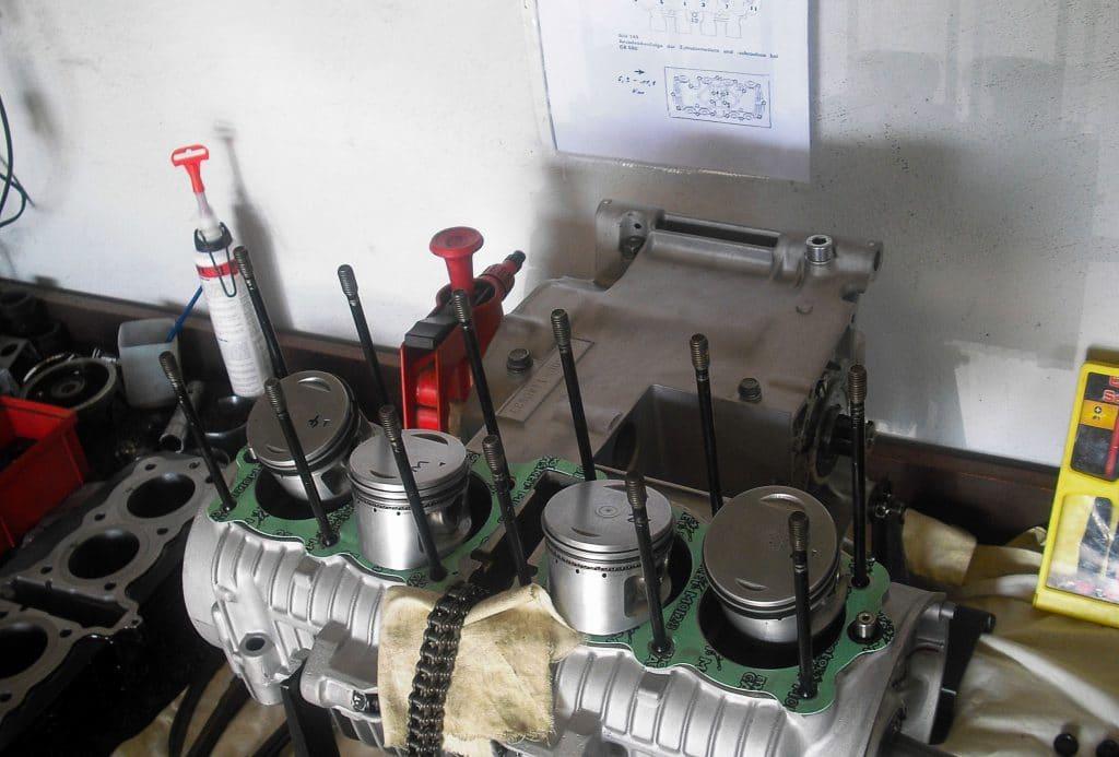 CB550 Four Motor