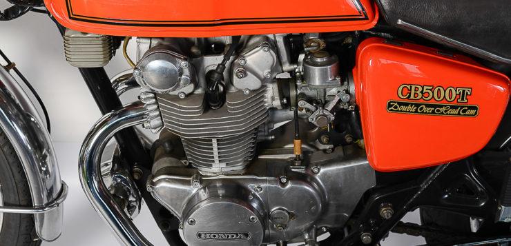 Der CB 500 T Motor gilt als recht robust