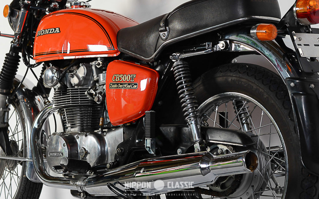 Die Erfolge der CB 450 konnte die Honda CB 500 T nicht erzielen
