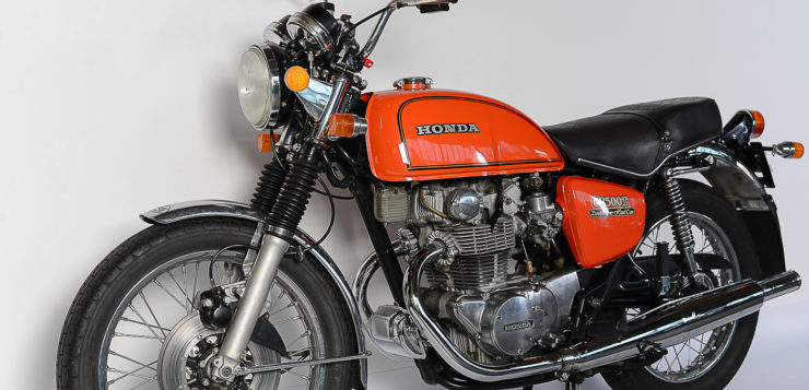 Die CB 500 T verkörpert den Stil der 1970er Jahre