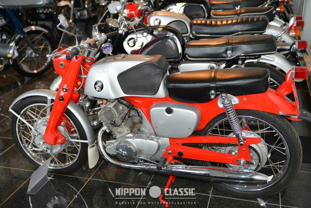 Restauriert ist die Honda CB 92 eine Perle