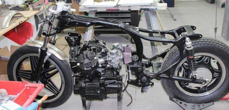 Honda CX 500 Bobber