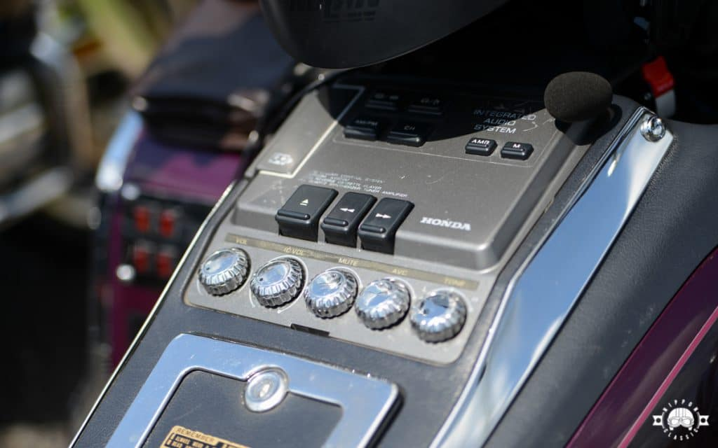 Die GL 1500 punktete mit einer umfangreichen Luxusausstattung, wie dem Kassettenradio