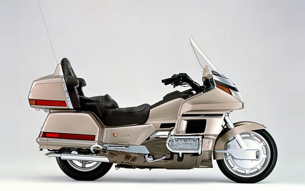 Die Honda GL 1500 Goldwing kam 1988 als Neukonstruktion auf den Markt