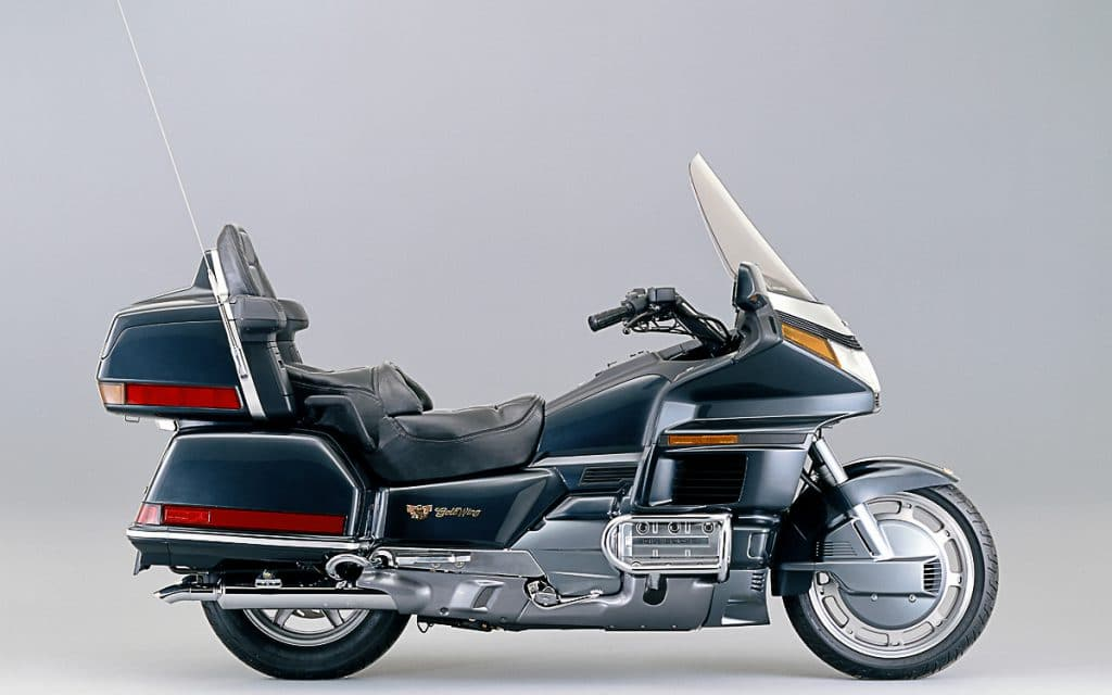 Eine nennenswerte Modellpflege gabe es bei der GL 1500 nicht - hier die Version von 1989