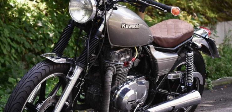 Kawasaki Z 440 Umbau
