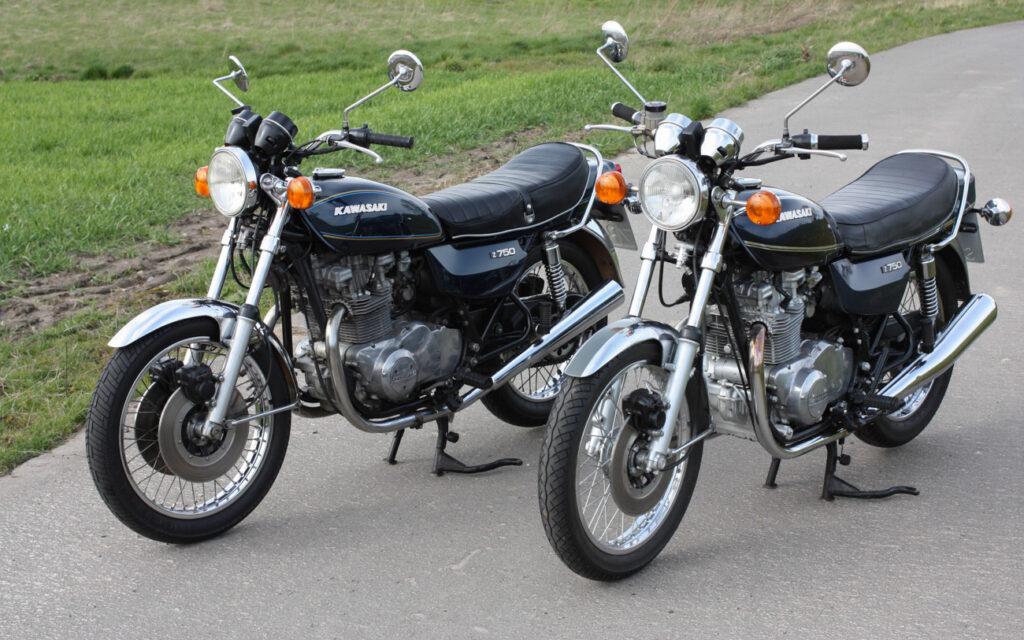 Solide Technik, viel Drehmoment und ein kurvenwilliges Fahrwerk kennzeichnen die Kawasaki Z750