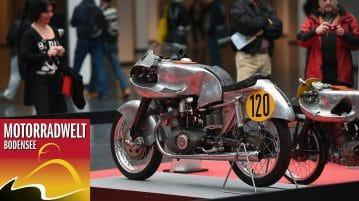 Saisonauftakt auf der Motorradwelt Bodensee vom 27. bis 29. Januar 2017