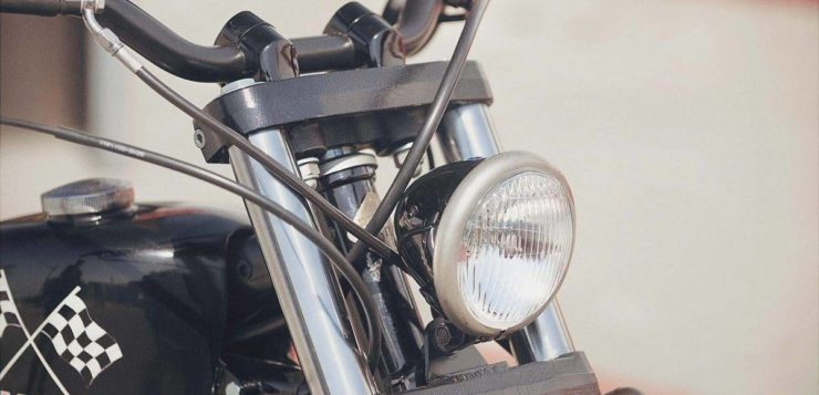 """SCR950 """"Chequered Scrambler"""" von Brat Style"""